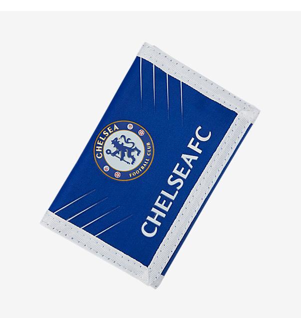 กระเป๋าสตางค์เชลซีไนล่อนแบบ 3 พับของแท้ Chelsea FC Spike Wallet