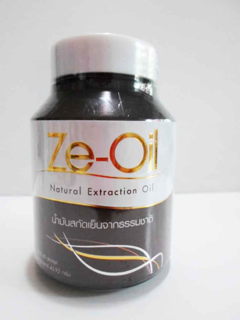 Ze-Oil ซีออยล์ 1 กระปุกมี 60 แคปซูล