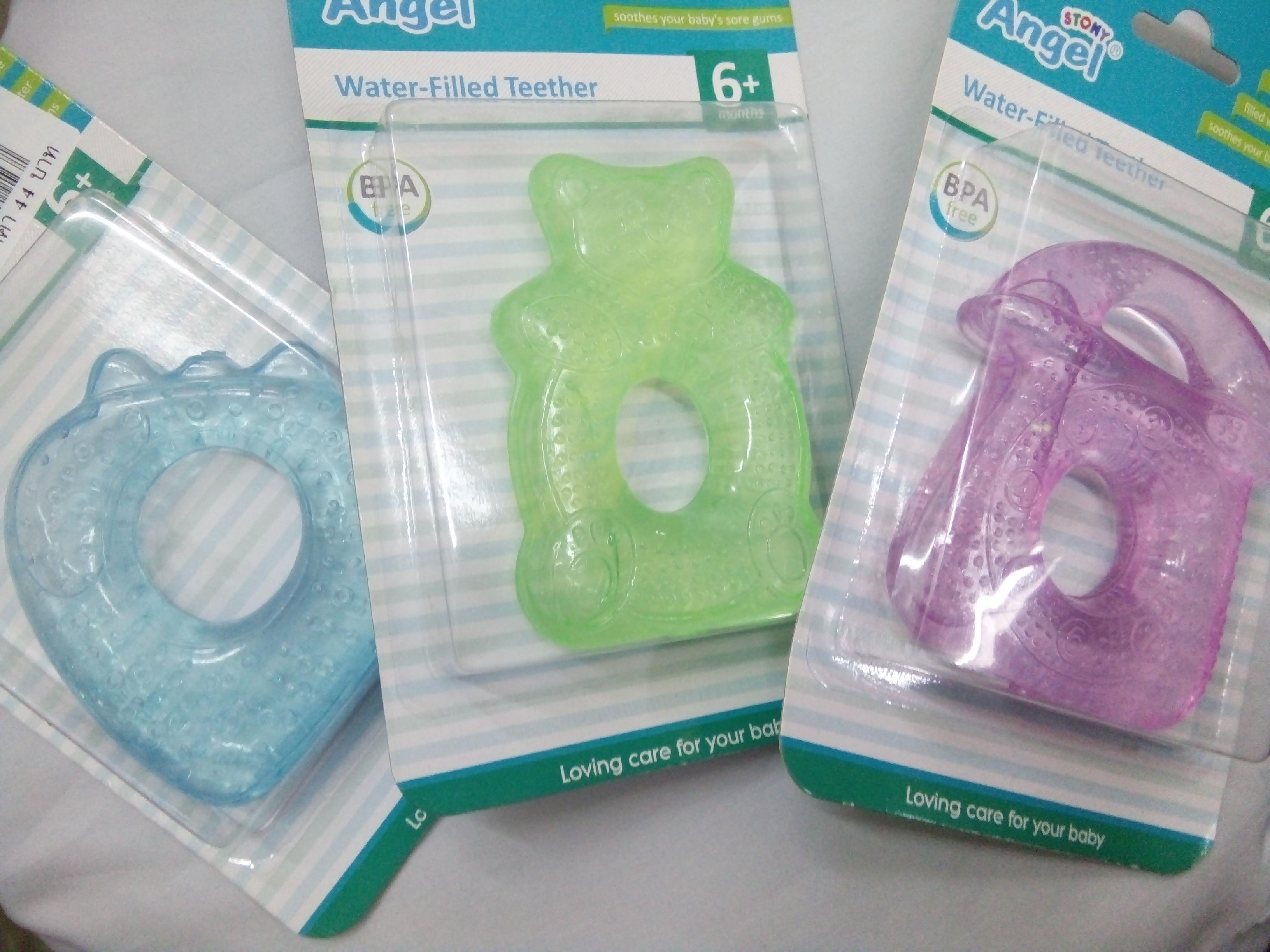ยางกัดเด็ก Angel BPA-Free Water Filled Teether