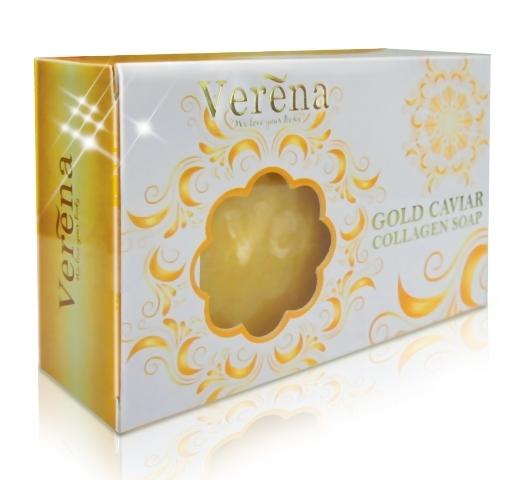 *พร้อมส่ง* Gold Caviar Collagen Soap สบู่ทองคำผสมคอลลาเจน
