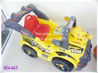 รถแบตเตอรี่เด็กนั่ง รุ่นHD6423 รถจิ๊ป
