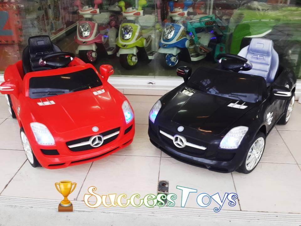 QX7997 Mercedes-Benz SLS AMG มีสีแดง สีดำ