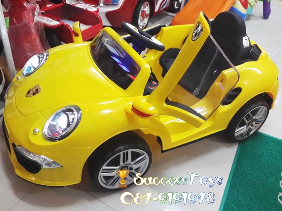 รถแบตเตอรี่ รุ่น BD3109 ยี่ห้อ Porsche (พอร์ชเช่ปีกนก) มี 4 สี แดง ขาว เหลือง น้ำเงิน