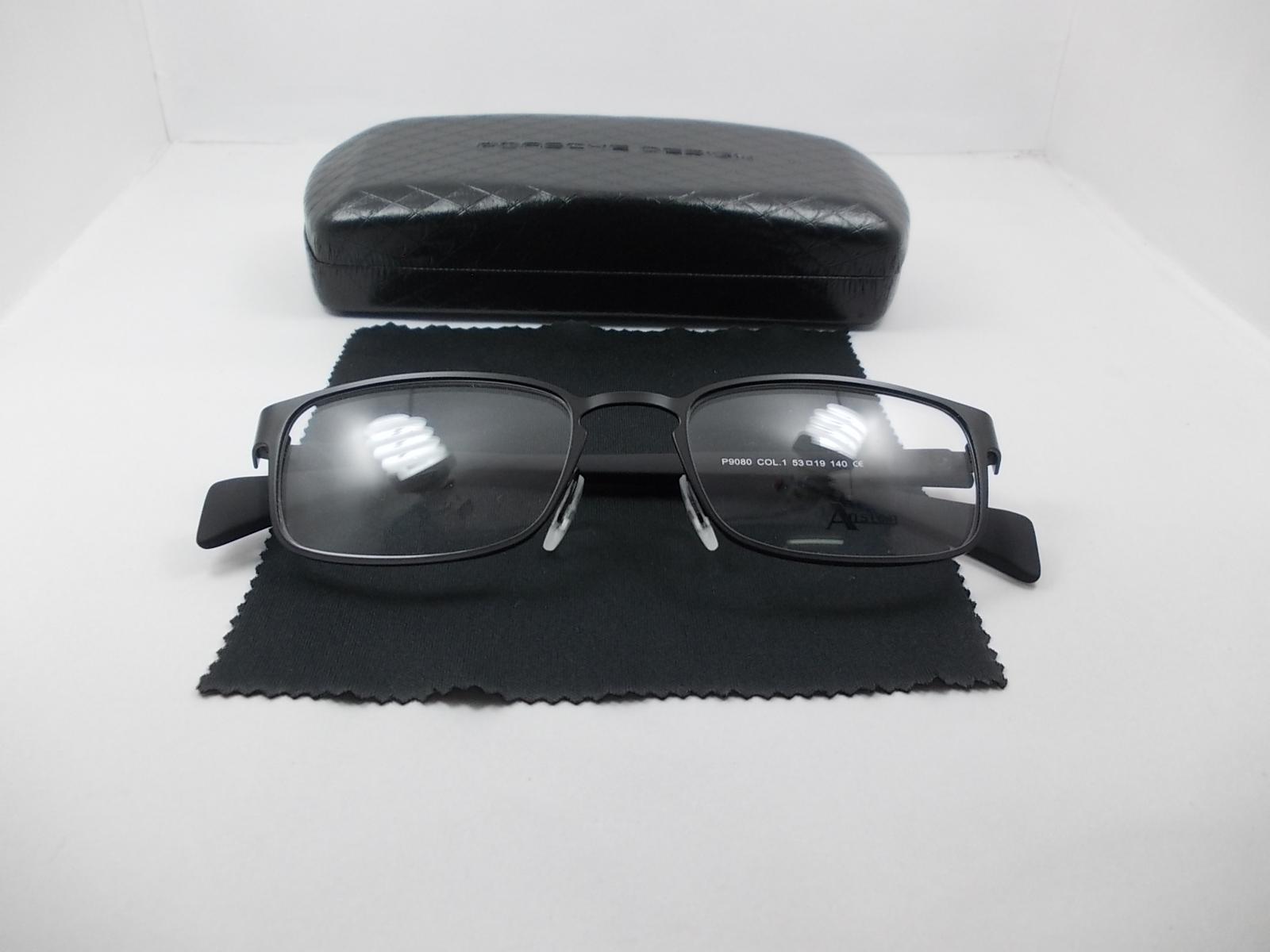 กรอบแว่นตานำเข้า P9080N กรอบดำ