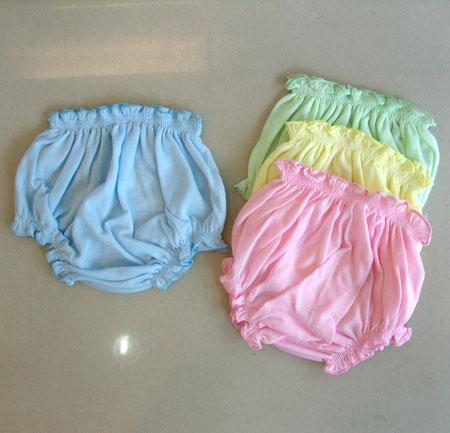 [แพค 3 ตัว] กางเกงเด็กทารกแรกเกิด ผ้ายืดเนื้อนิ่ม