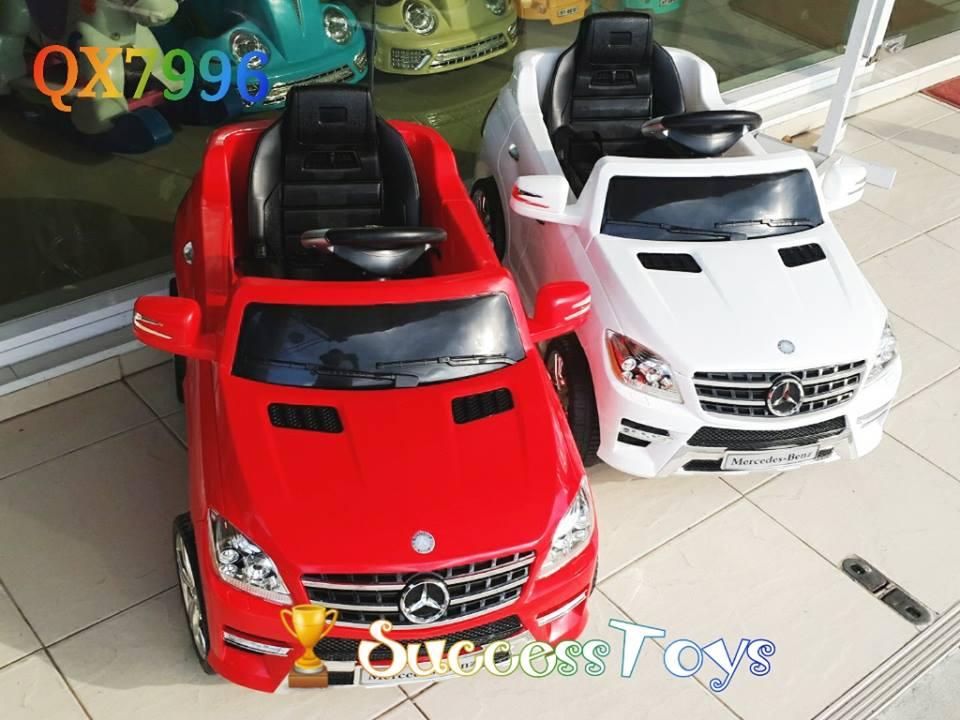 QX7996 Mercedes-Benz ML350 มีสีแดง ขาว
