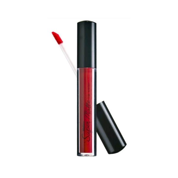 *พร้อมส่ง* Mistine Super Matte Lip Color ลิปจิ้มจุ่ม มิสทีน ซุปเปอร์แมทท์ เนื้อแมทท์มาแรงส์ สีสดแน่นคมชัด เพิ่มความเย้ายวนให้เรียวปาก