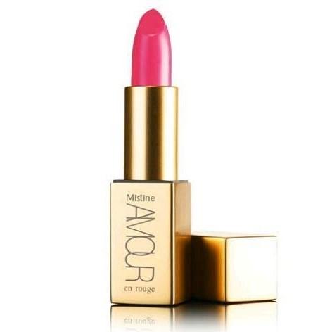 Mistine Amour En Rouge Satin Pure Color Lipstick ลิปสติก มิสทีน อมอร์ ออง รูจ ซาติน เพียว คัลเลอร์ ลิปเนื้อซาติน มันวาว 9 เฉดสี พร้อมเทคโนโลยีใหม่ฝาปิดแบบแม่เหล็ก