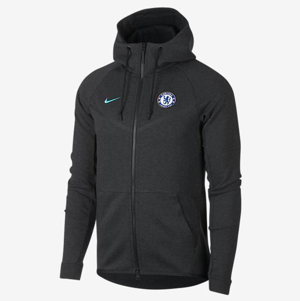 เสื้อฮู้ดกันลมเชลซี Chelsea FC Tech Fleece Windrunner ของแท้