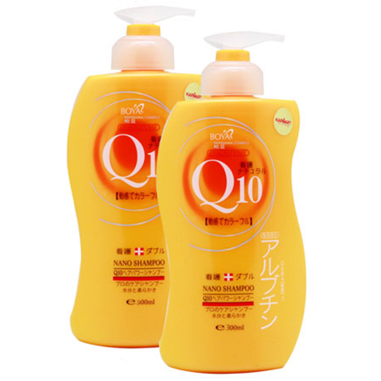 *พร้อมส่ง* BOYA Q10 Shampoo แชมพูโบย่า คิวเท็น เปลี่ยนผมแห้งเสียให้แข็งแรง นุ่มลื่น ใน 7 วัน สำเนา