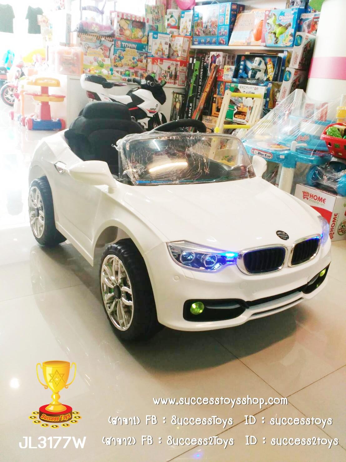 JL3177W รถแบตเตอรี่เด็กนั่งไฟฟ้า BMW 2M