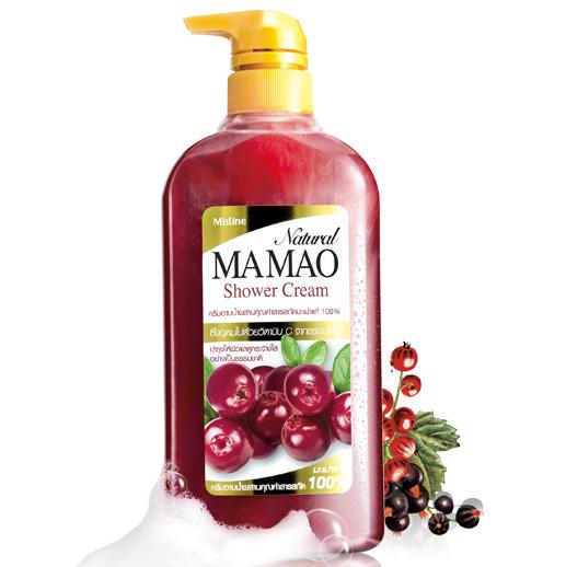 *พร้อมส่ง* Mistine Natural MA MAO Shower Cream ครีมอาบน้ำสูตรมะเม่าแท้ 100% วิตามินซีสูงกว่า วิตามินอีสูงกว่า ขาว อ่อนเยาว์ ยิ่งกว่า