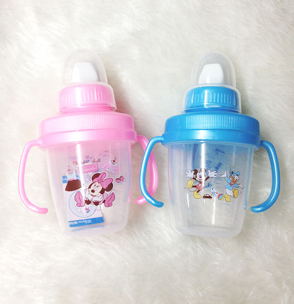 ถ้วยหัดดื่ม Mickey Mouse สำหรับเด็ก 2 ช่วงวัย (2-Step Training Cup)