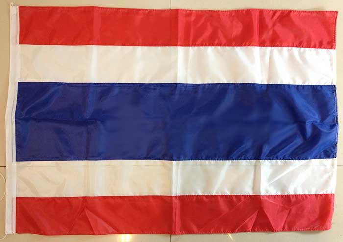ธงชาติไทย ธงไตรรงค์ No.5 ขนาด 50 * 75 ซม.