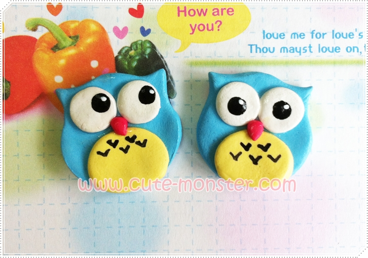 Cute owl [blue]