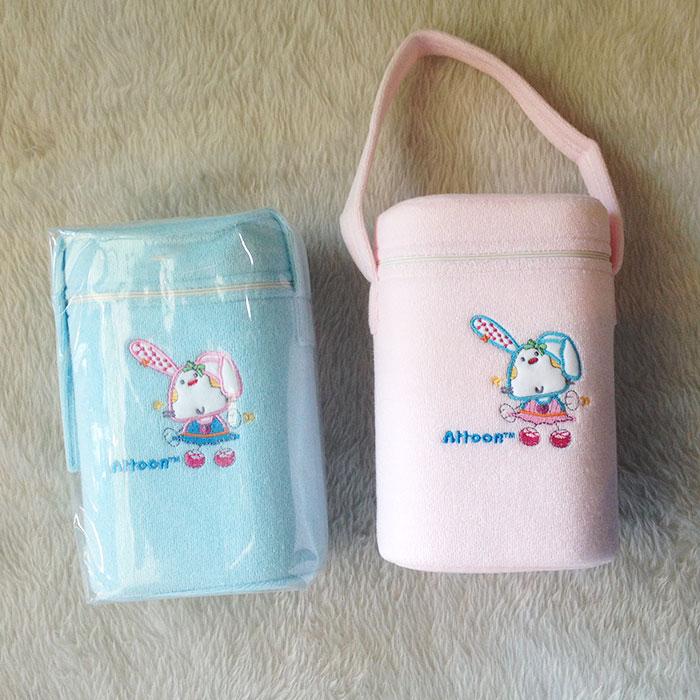 กระเป๋าโฟมใส่ขวดนม Attoon คละลาย ช่วยรักษาอุณหภูมิ