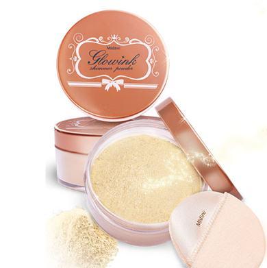 *พร้อมส่ง* Mistine Glowink Shimmer Powder แป้งฝุ่นชิมเมอร์ โกลวิ้งค์ ให้ผิวเป็นประกาย ระยิบระยับสวยโดดเด่นกว่าใครๆ