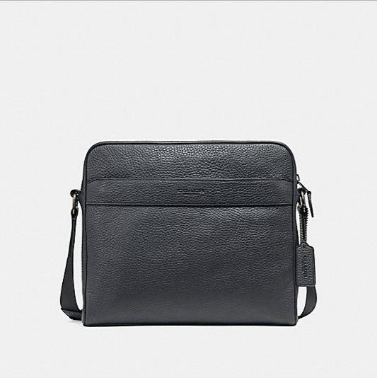 กระเป๋าผู้ชาย COACH CHARLES CAMERA BAG F24876 : BLACK