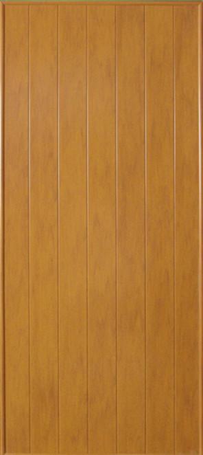 ประตูพีวีซี CHAMP P1 ลายไม้ 80x200