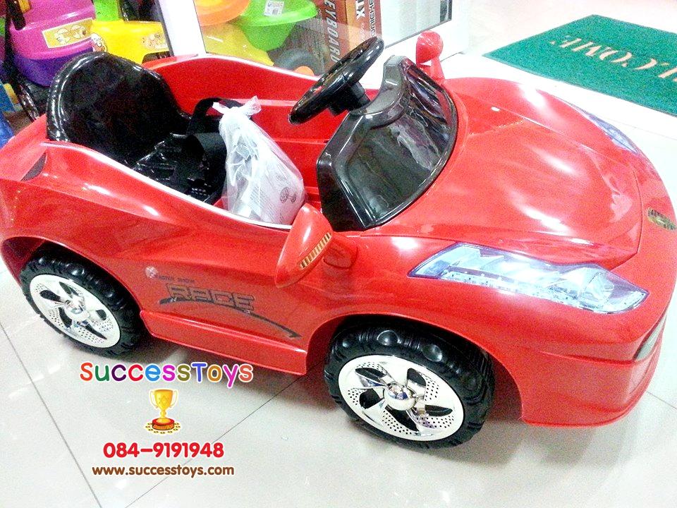 LN5620R รถแบตเตอรี่เด็กนั่ง ยี่ห้อเฟอรารี่ สีแดง