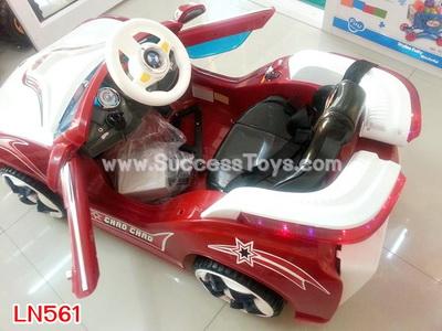 รถแบตเตอรี่เด็กนั่ง รุ่น LN561 ยี่ห้อ BMW มี 2 สี แดง น้ำเงิน
