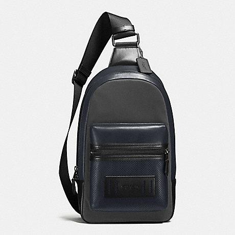 กระเป๋าผู้ชาย COACH TERRAIN PACK IN PERFORATED MIXED MATERIALS F56877