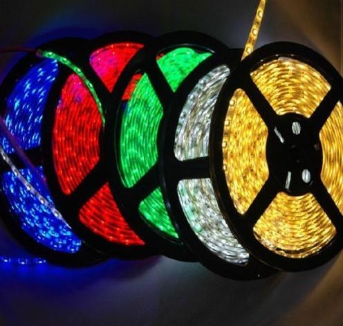 ไฟ LED แบบเส้น SMD ดวงใหญ่ 60 ดวง/เมตร ยาว 5 เมตร