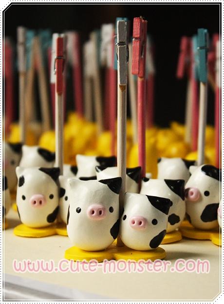 wedding souvenirs [Little cow]