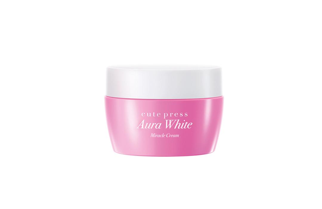*พร้อมส่ง* Cute Press Aura White Miracle Cream ออร่า ไวท์ มิราเคิล ครีม เพียง 14 วัน* เนรมิตผิวกระจ่างใส อิ่มน้ำดุจมีออร่า