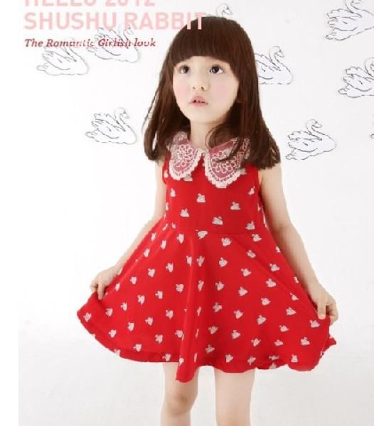 เดรสเด็กหญิงสีแดง