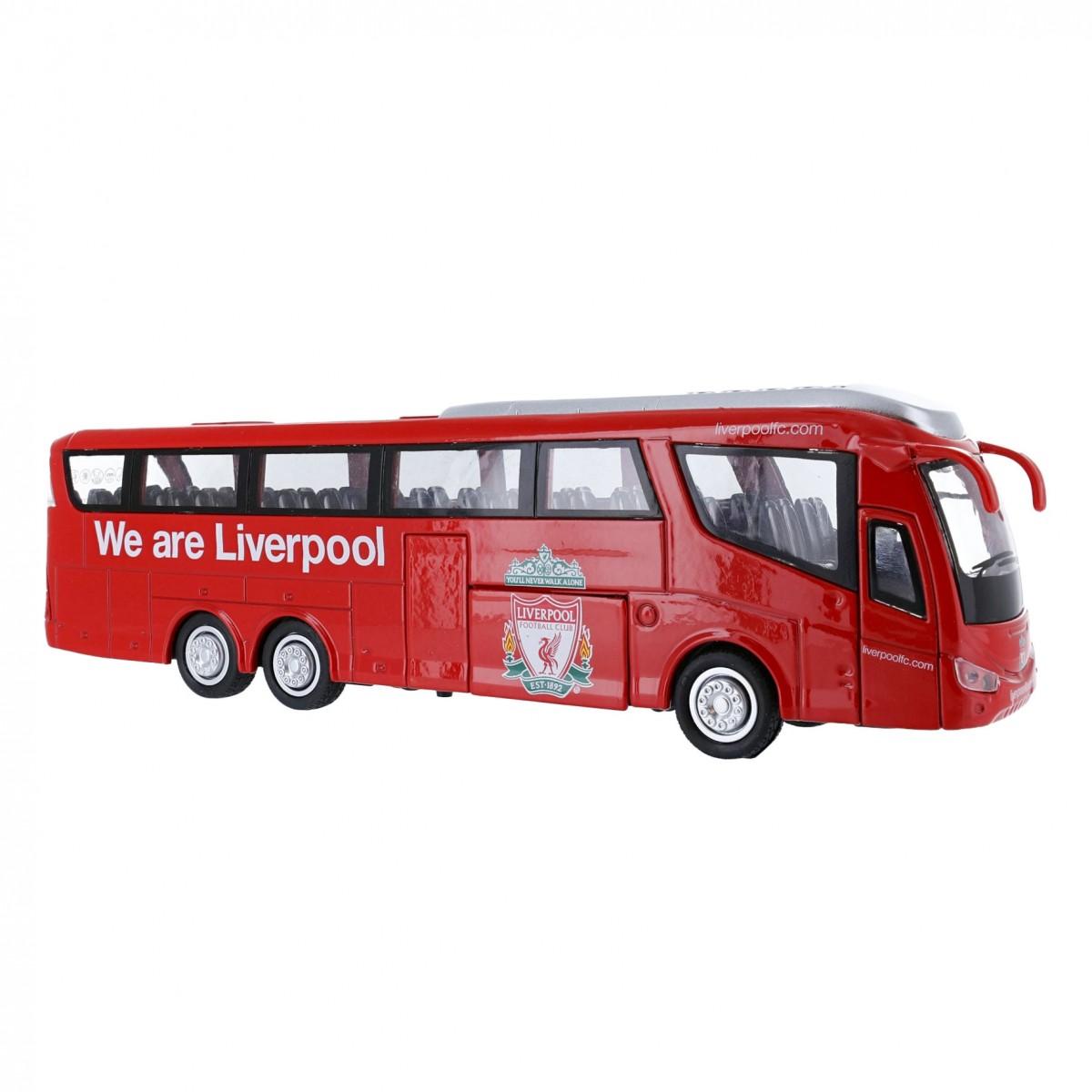 รถบัสทีมลิเวอร์พูล Liverpool FC Team Bus ของแท้