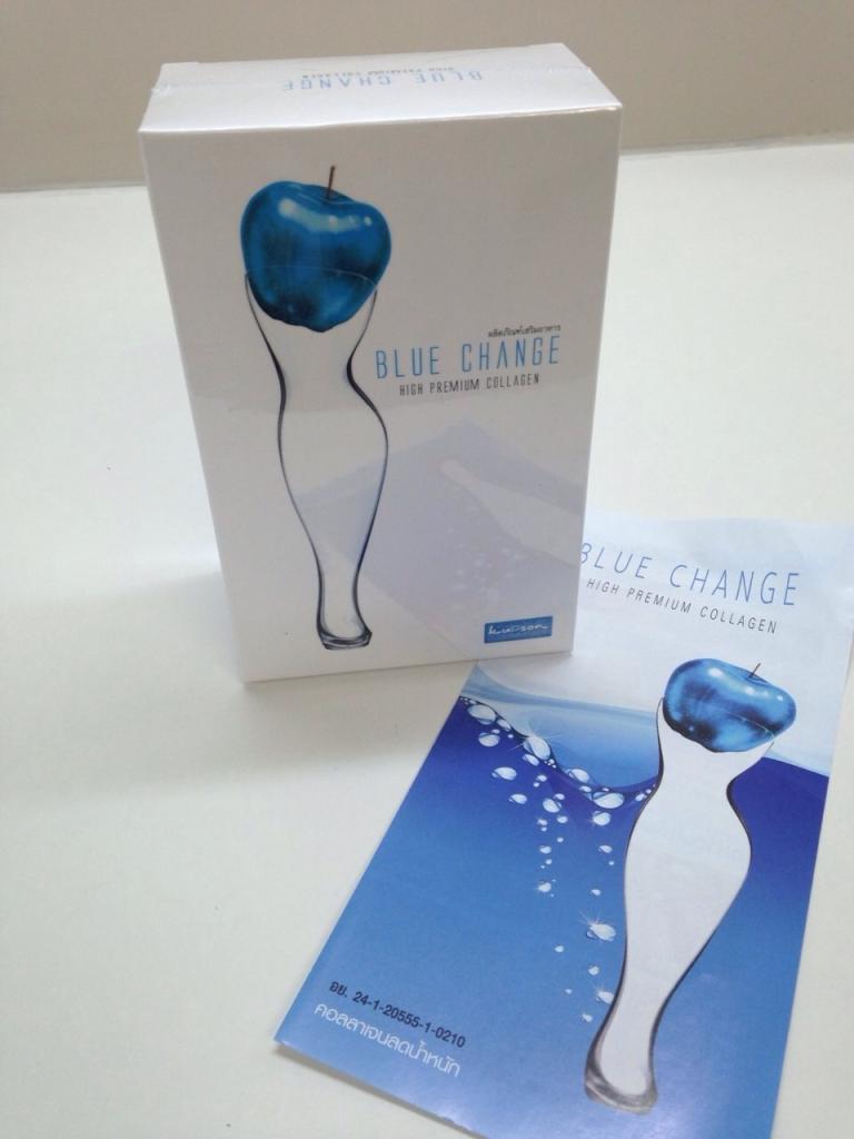 บลูเช้ง Blue Change ผลิตภัณฑ์คอลลาเจนลดน้ำหนัก ลดพลังงานเข้า เพิ่มพลังงานออก ไม่หิวบ่อย ไม่เหี่ยว พัฒนาขึ้นมาเพื่อตอบสนองกับผู้ที่ต้องการให้รูปร่างที่ดูดี โดยไม่มีผลข้างเคียง
