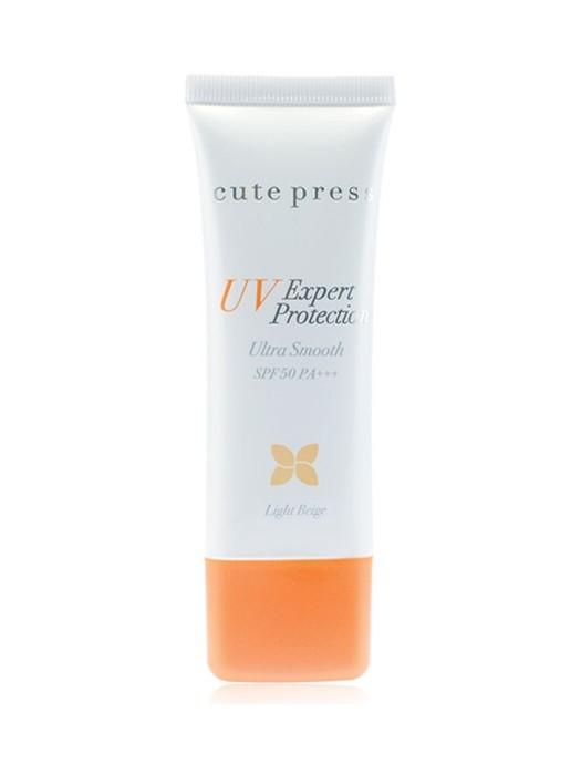 *พร้อมส่ง* Cute Press UV Expert Protection Ultra Smooth SPF50 PA+++ กันแดดคิวท์เพรส กันแดดเนื้อมูส เบาสบายเหมือนแป้ง ยอดนิยม