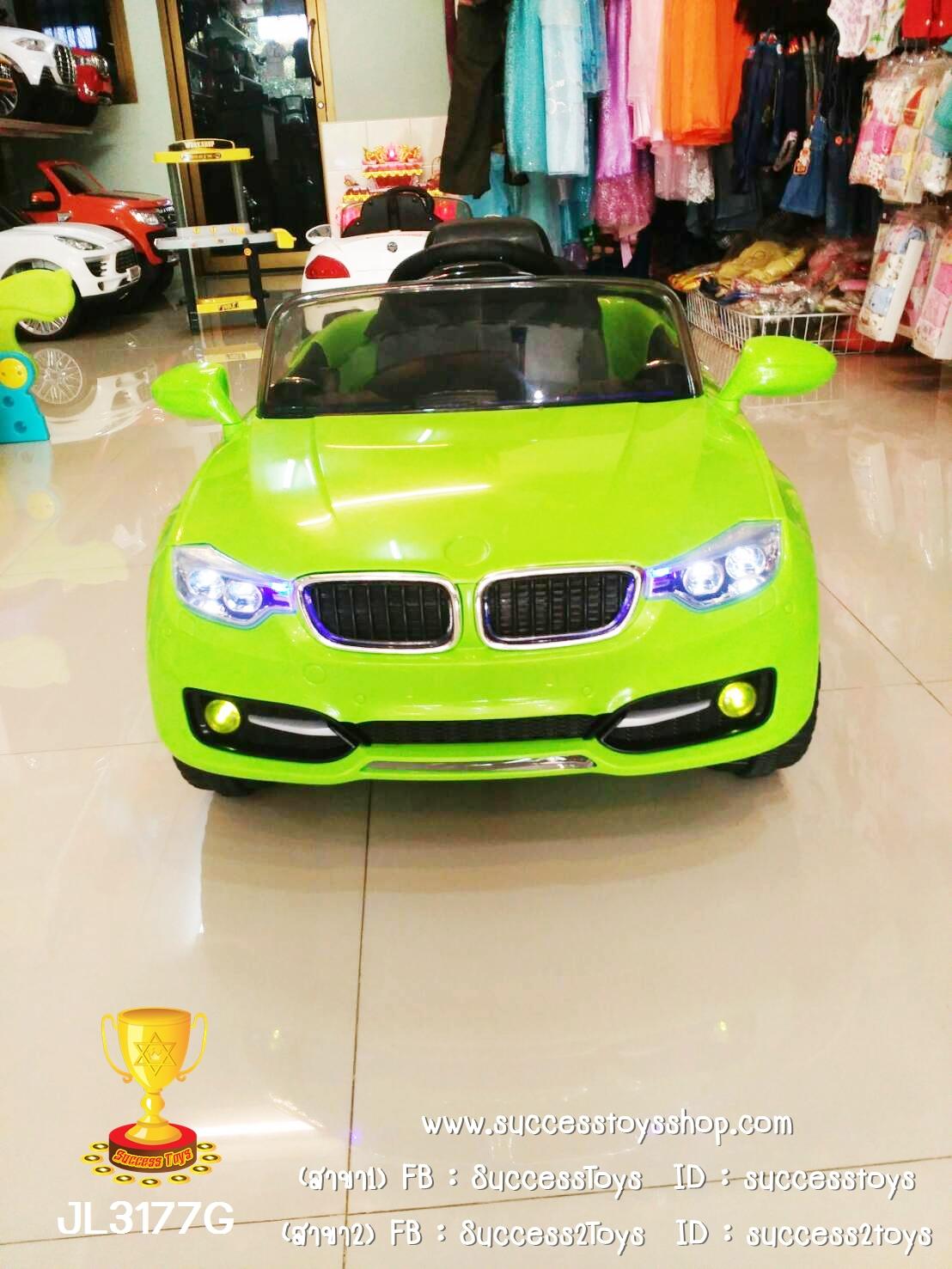 JL3177G รถแบตเตอรี่เด็กนั่งไฟฟ้า BMW 2M