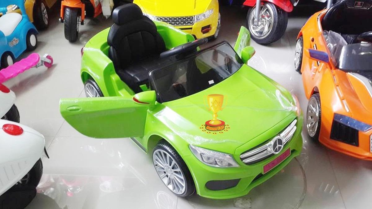 รถแบตเตอรี่เด็กนั่งไฟฟ้า รุ่น LN5619 ยี่ห้อ BENZ 2m