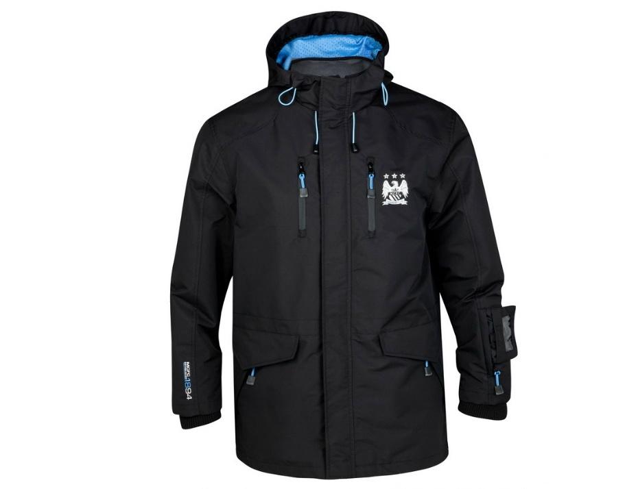 เสื้อ Mancity เสื้อแจ็คเก็ต แมนเชสเตอร์ ซิตี้ ของแท้ 100% Manchester City Performance Hike Jacket - Black จากอังกฤษ เหมาะสำหรับสวมใส่ เป็นของฝาก ของที่ระลึก ของสะสม ของขวัญแด่คนสำคัญ