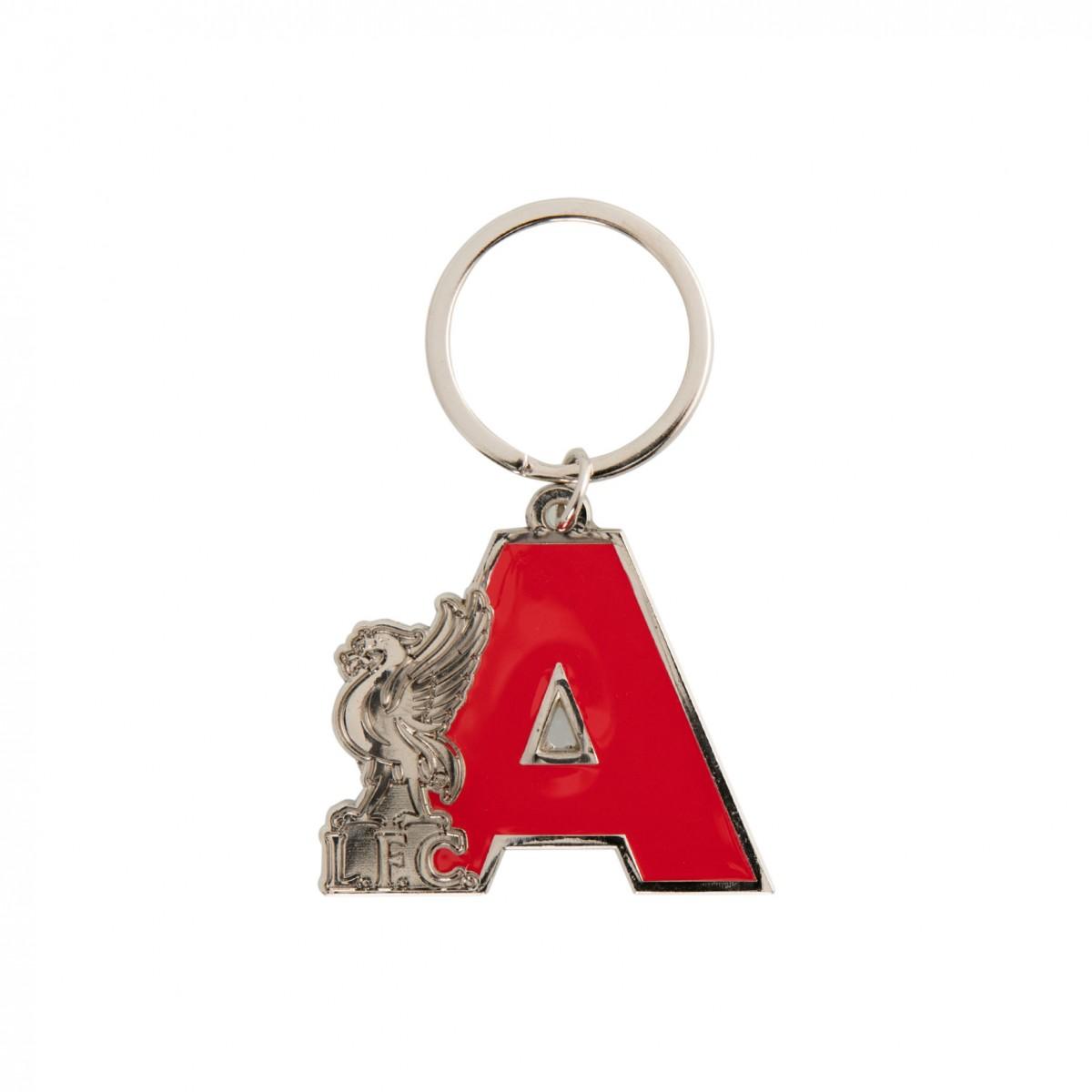 พวงกุญแจลิเวอร์พูลอักษรย่อ A ของแท้