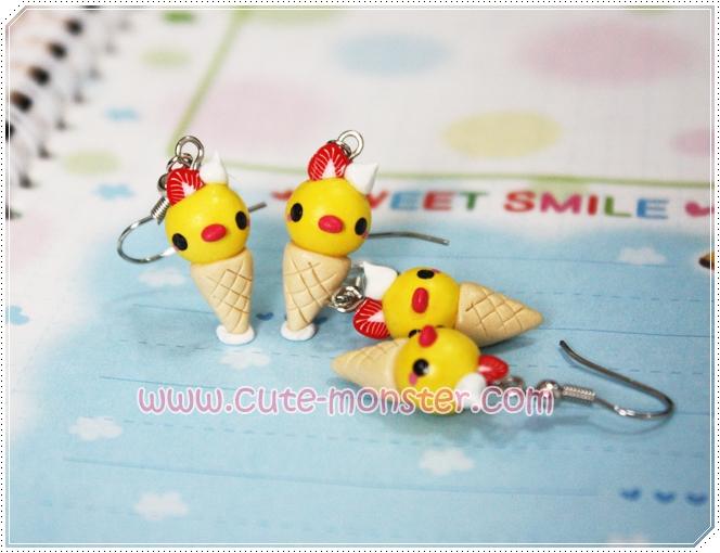 Little duck ice-cream