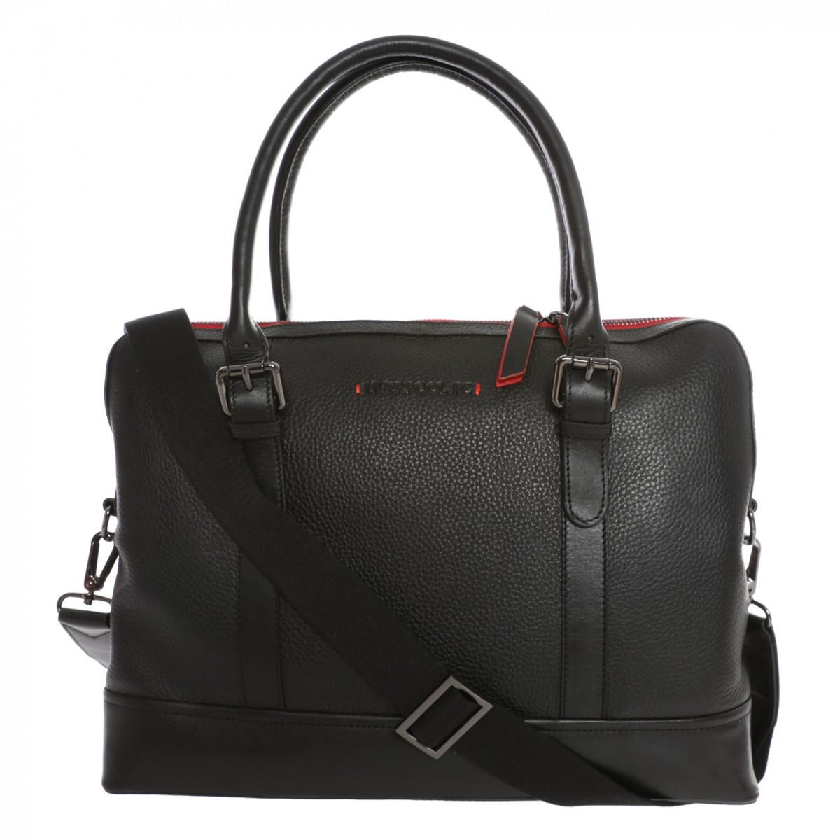กระเป๋าทำงานลิเวอร์พูล LFC Black Signature Work Bag ของแท้