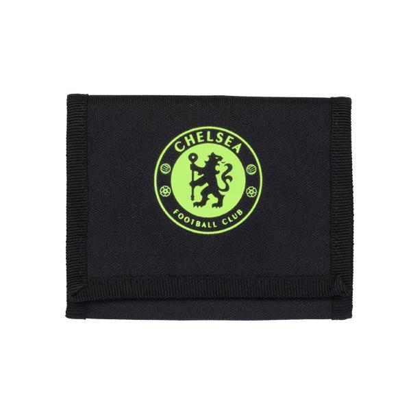 กระเป๋าสตางค์ที่ระลึกเชลซีของแท้ รุ่น3พับ adidas Chelsea Wallet Black