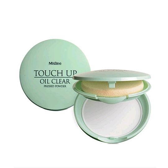 *พร้อมส่ง* Mistine Touch Up Oil Clear Pressed Powder แป้งซับมันระหว่างวัน มิสทีน ทัช อัพ ออยล์ เคลียร์ แป้งอัดแข็งเนื้อละเอียดบางเบาสูตรควบคุมความมัน ใช้เซตรองพื้นให้หน้าเนียนเรียบยิ่งขึ้น
