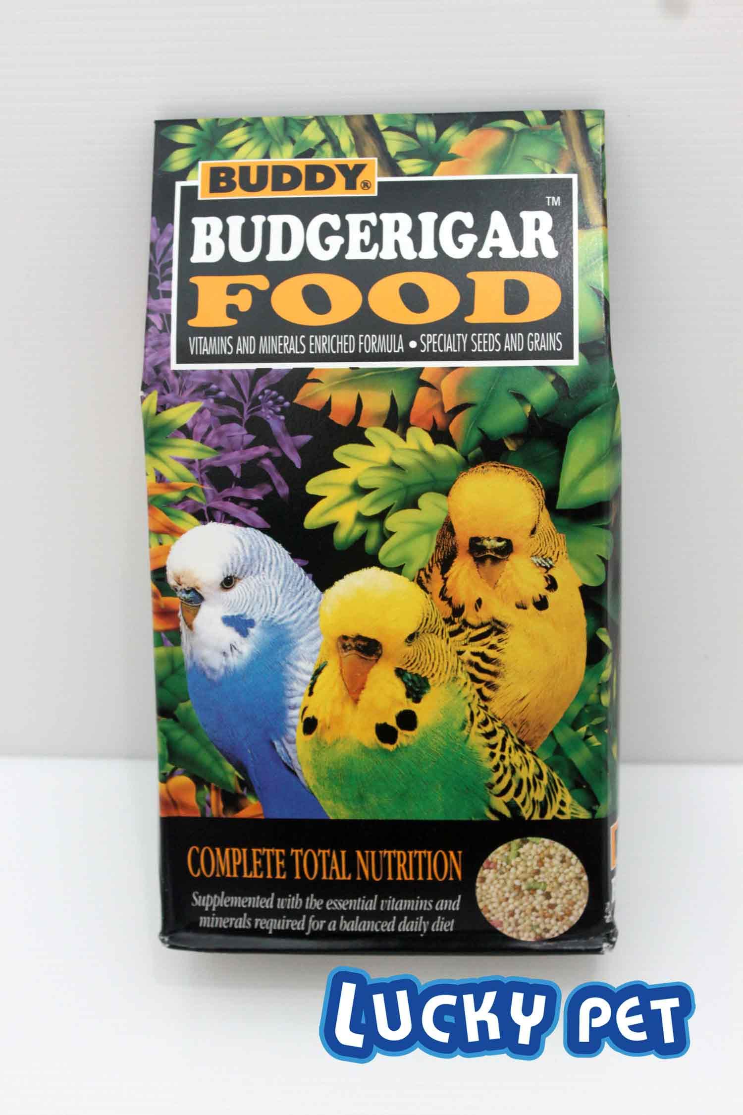 Buddy Budgerigar Food อาหารสำหรับ นกหงษ์หยก 1.5 ปอนด์พิเศษ!!!! สั่งซื้อ 1 โหล 700 บาท