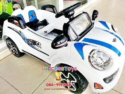 LN5718W/3061Wรถแบตเตอรี่เด็กนั่ง ยี่ห้อมินิจัสติน สีขาว