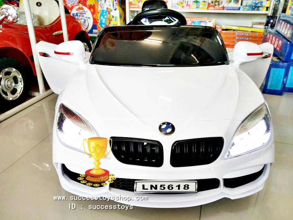 รถแบตเตอรี่เด็กนั่งไฟฟ้า รุ่นLN5618 ยี่ห้อBMW 2m