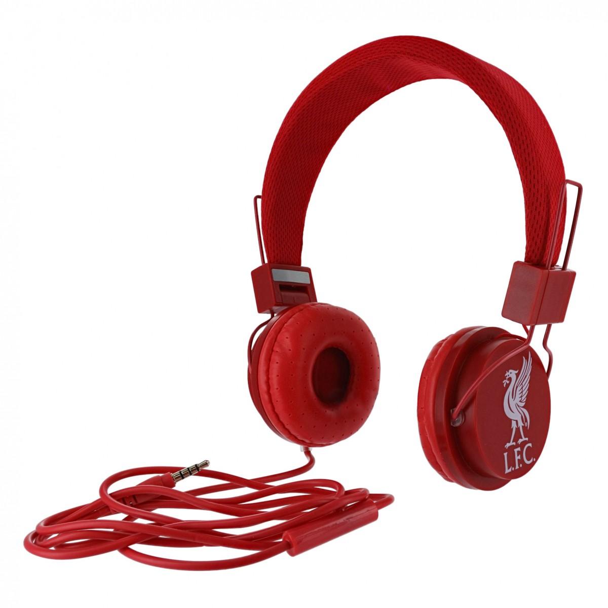 หูฟังลิเวอร์พูลของแท้ Red Headphones