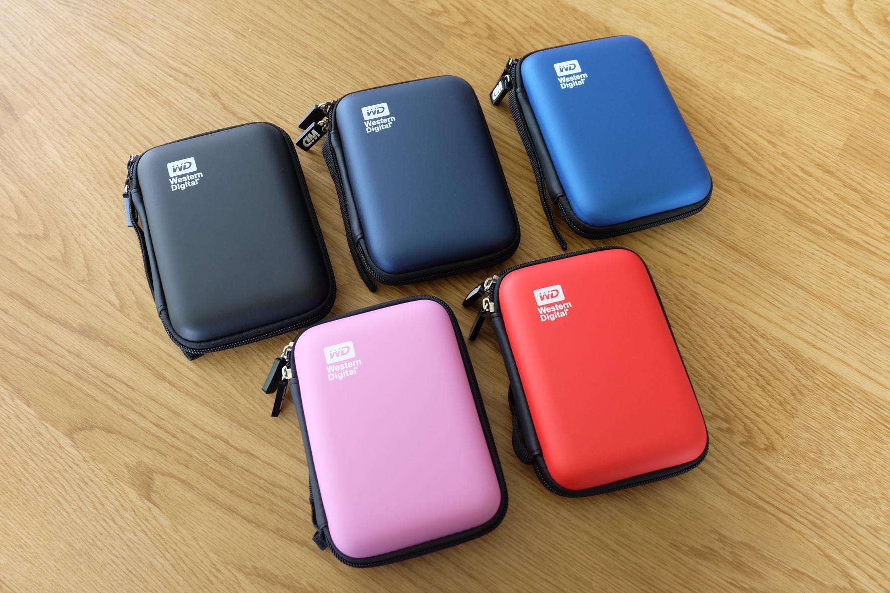 กระเป๋าext HDD WD กันกระแทกใบเล็ก