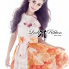 Lady Ribbon's Made Lady Angela Super Feminine Sweet Flowery Print Dress