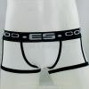 กางเกงในชาย ES Boxer Briefs : ขอบดำ สีขาว