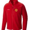 เสื้อแจ็คเก็ตแมนเชสเตอร์ ยูไนเต็ด Columbia Fast Trek II Full Zip Fleece Jacket สีแดงของแท้