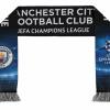ผ้าพันคอที่ระลึกแมนเชสเตอร์ ซิตี้ Manchester City UEFA Printed Scarf